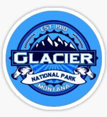 Glacier National Park Travel Decal Sticker