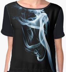 Smoke trails~ Women's Chiffon Top