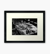 Old Office Framed Print