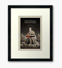galactica cylon Framed Print