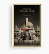 galactica cylon Canvas Print