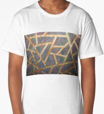 Tropical Triangles Long T-Shirt