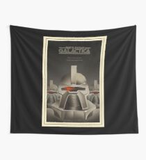 galactica cylon Wall Tapestry