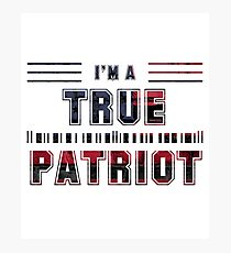 True Patriot  Photographic Print