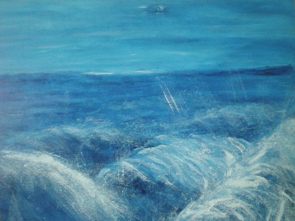 cette vague by Margot Koefod