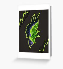 Maleficent Silhouette Greeting Card