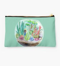 Terrarium - Watercolor Studio Pouch