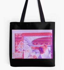 "Original Collage - Vintage Pink ""Q Car"" Tote Bag"