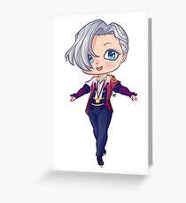 Yuri on Ice - Victor Nikiforov Greeting Card
