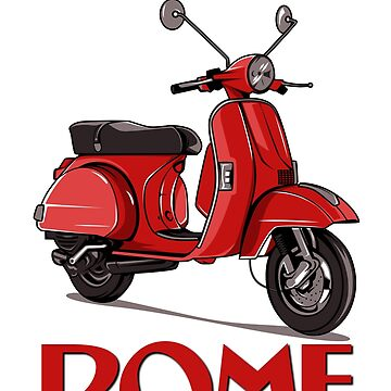All Roads Lead to Rome - On a Scooter!   by NewNomads