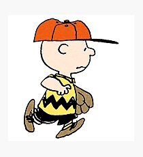 The Peanuts - Charlie Brown Photographic Print