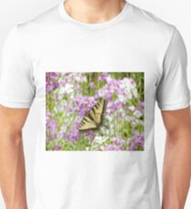 The Swallowtail in Springtime Unisex T-Shirt