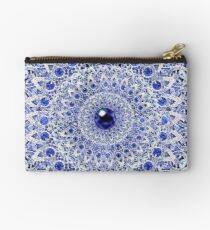 Fabric, Moroccan, India, Bohemia, Bling Design Zipper Pouch