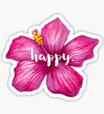 Happy Flower Sicker Sticker