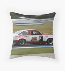 Moving Roadways Throw Pillow