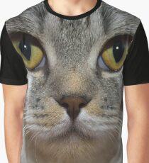 British Shorthair Portrait Graphic T-Shirt