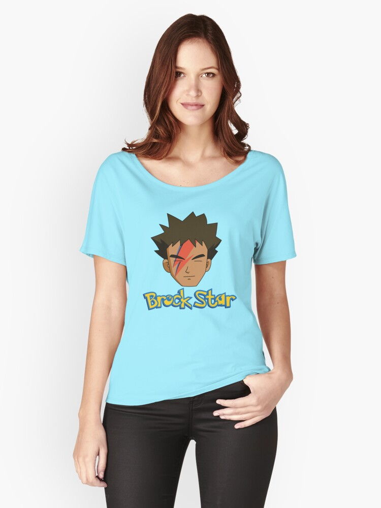 Brock Star Women's Relaxed Fit T-Shirt Front