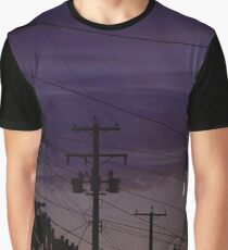 Skyscapes: Twilight Town Graphic T-Shirt