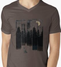 A Fox in the Wild Night T-Shirt