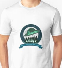 Dreams are the Answer to the Questions Left Unasked  T-Shirt