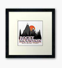 Rocky Mountain Framed Print