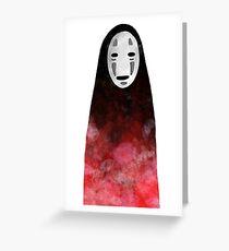 NO FACE - Spirited Away Greeting Card