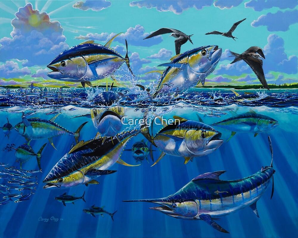 Yellowfin Run von Carey Chen