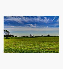 Farm Country Photographic Print
