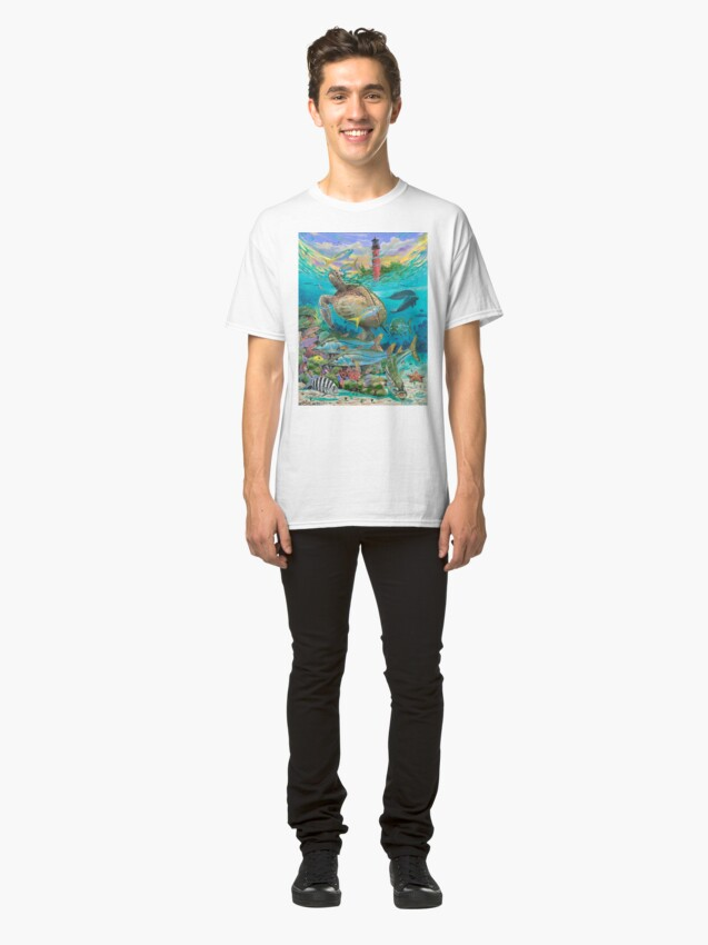 Alternative Ansicht von Jupiter Haven Classic T-Shirt