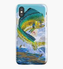 Mahi Hook Up iPhone Case