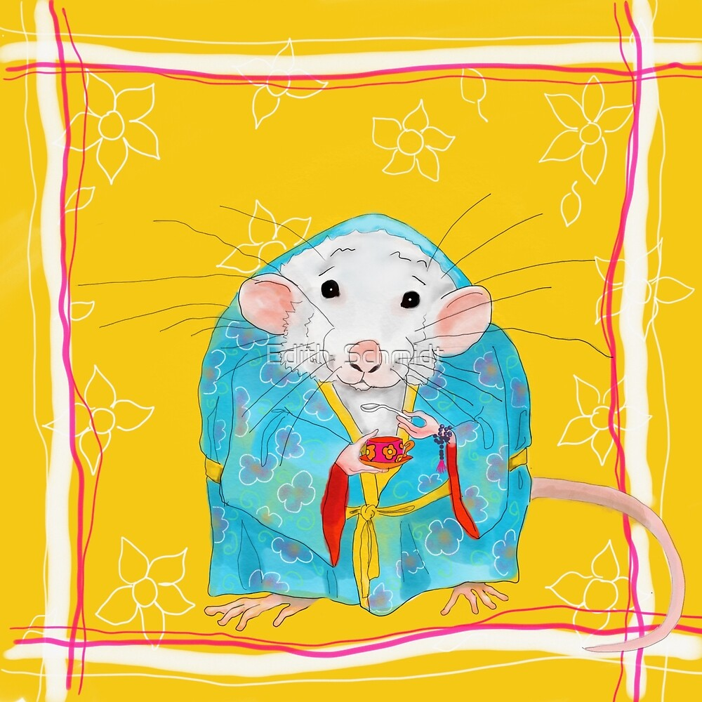 Stay Calm and Meditate With Stu The Sewer Rat  by Edith  Schmidt