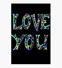Luv Youi Photographic Print
