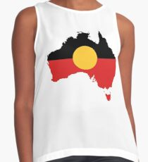 Australian Aboriginal Flag Contrast Tank