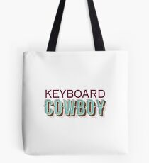 keyboard cowboy Tote Bag