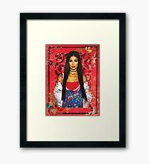 JHENE AIKO EFURU CHILOMBO Framed Print