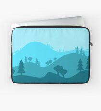 Landscape Blended Blue Laptop Sleeve