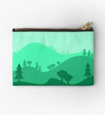 Landscape Blended Green Studio Pouch