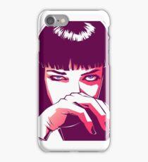 Mia Wallace  iPhone Case/Skin