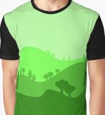 Landscape Blended Green 2 Graphic T-Shirt