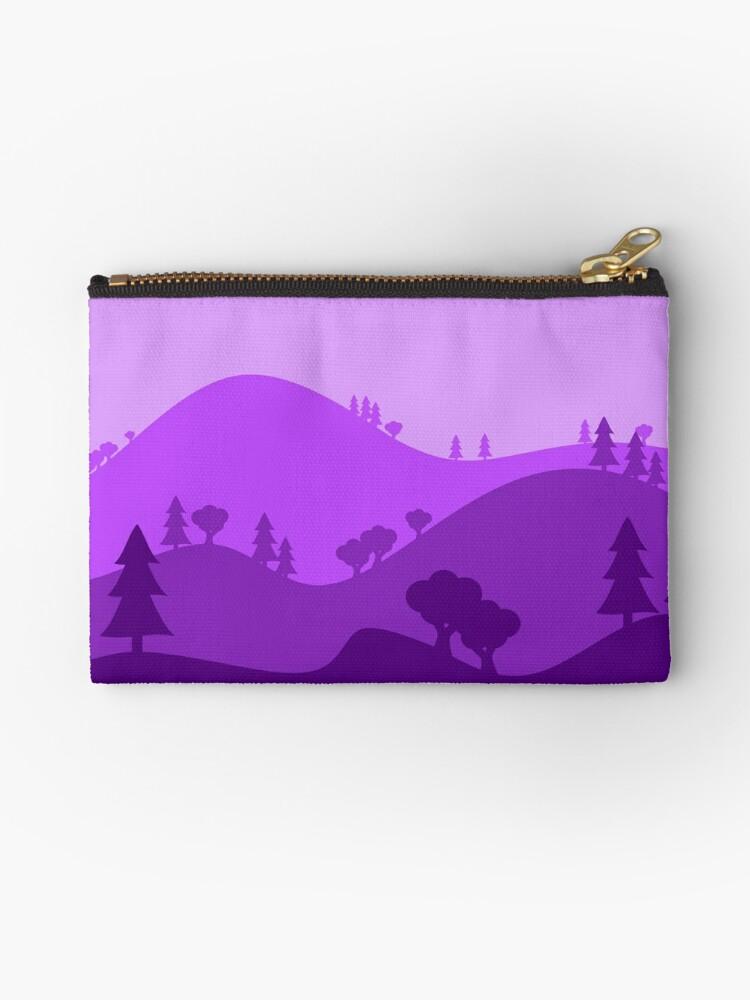 Landscape Blended Purple by HandDrawnTees