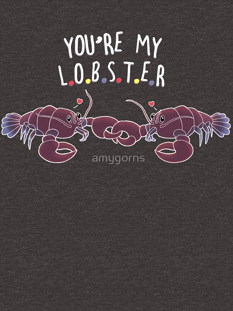 You Are My Lobster by amygorns