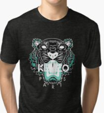 kenzo paris - white Tri-blend T-Shirt