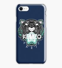 kenzo paris - white iPhone Case/Skin