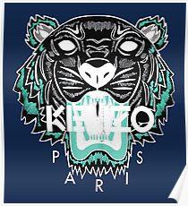 kenzo paris - white Poster