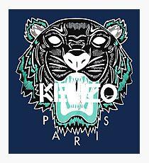 kenzo paris - white Photographic Print