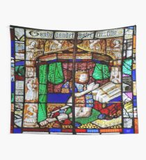 PRINCE ARTHUR WINDOW, WORCESTER CATHEDRAL, WORCESTERSHIRE, ENGLAND Wall Tapestry
