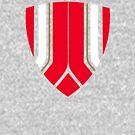 Gunner Shield Club Colours by HandDrawnTees