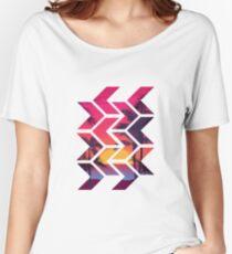 Geometric Sunset Women's Relaxed Fit T-Shirt