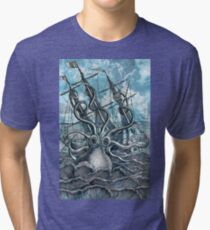 Sea Monster Tri-blend T-Shirt