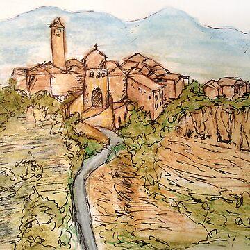 Civita di Bagnoregio by katmac